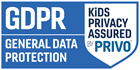 GDPRkids Privacy Assured Program by PRIVO